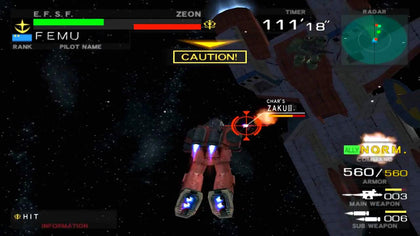 Mobile Suite Gundam: Federation vs. Zeon - PlayStation 2 (PS2) Game