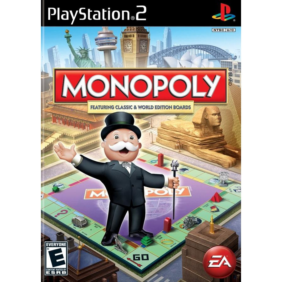 Monopoly - PlayStation 2 (PS2) Game Complete - YourGamingShop.com - Buy, Sell, Trade Video Games Online. 120 Day Warranty. Satisfaction Guaranteed.