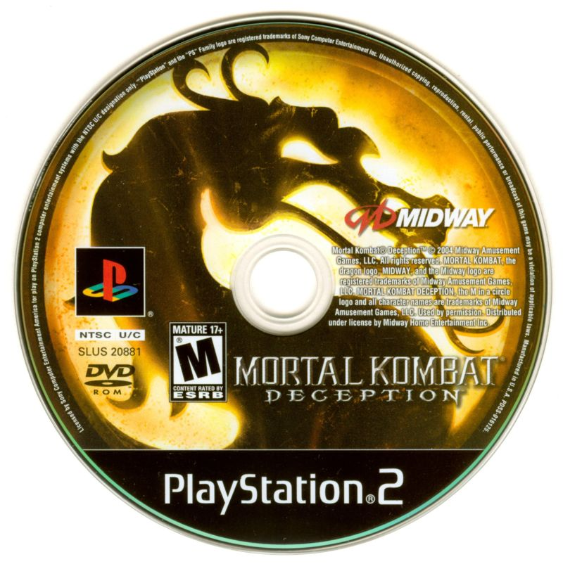 Mortal Kombat: Deception - PlayStation 2 (PS2) Game