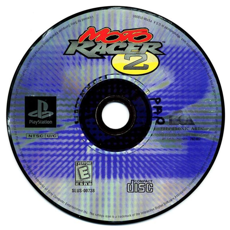 Moto Racer 2 - PlayStation 1 (PS1) Game Complete - YourGamingShop.com - Buy, Sell, Trade Video Games Online. 120 Day Warranty. Satisfaction Guaranteed.