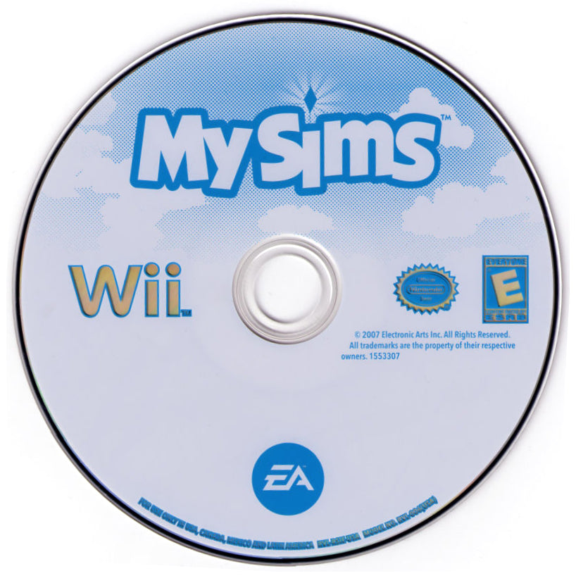 MySims - Wii Game Complete - YourGamingShop.com - Buy, Sell, Trade Video Games Online. 120 Day Warranty. Satisfaction Guaranteed.