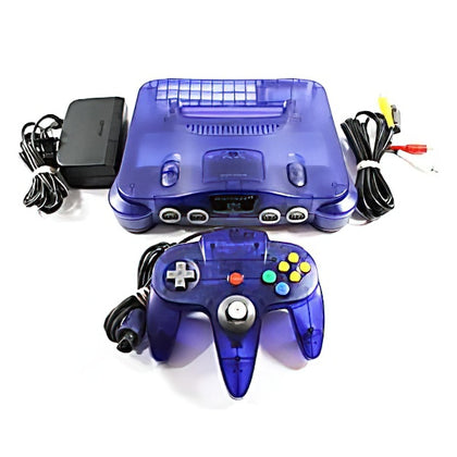 Nintendo 64 (N64) System - Grape Purple