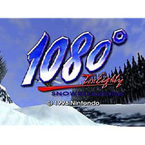 1080 Snowboarding - Authentic Nintendo 64 (N64) Game Cartridge - YourGamingShop.com - Buy, Sell, Trade Video Games Online. 120 Day Warranty. Satisfaction Guaranteed.