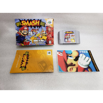 Your Gaming Shop - Super Smash Bros. - Authentic Nintendo 64 (N64) Game - Complete In Box Cartridge