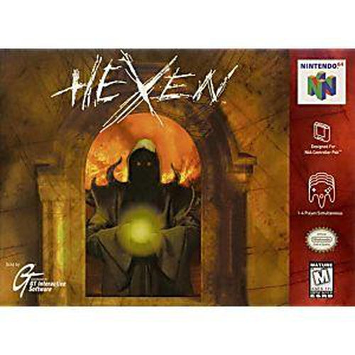 Your Gaming Shop - Hexen - Authentic Nintendo 64 (N64) Game Cartridge