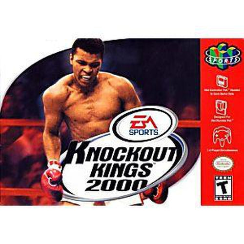 Your Gaming Shop - Knockout Kings 2000 - Authentic Nintendo 64 (N64) Game Cartridge