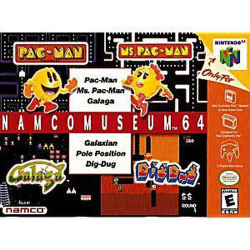 Your Gaming Shop - Namco Museum 64 - Authentic Nintendo 64 (N64) Game Cartridge
