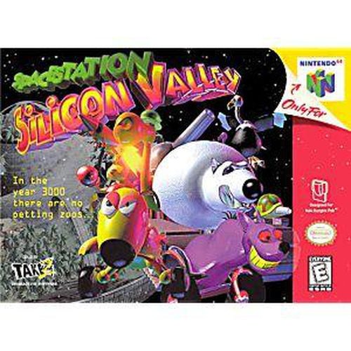 Your Gaming Shop - Space Station Silicon Valley - Authentic Nintendo 64 (N64) Game Cartridge