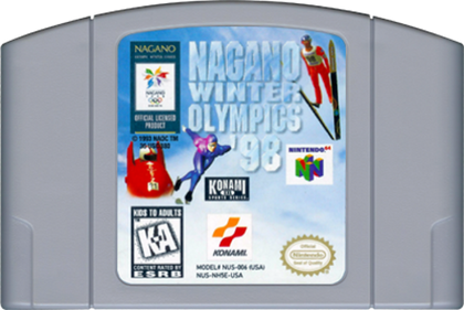 Nagano Winter Olympics '98 - Authentic Nintendo 64 (N64) Game Cartridge