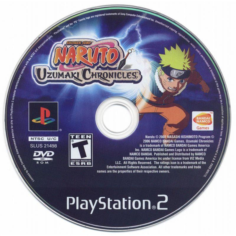 Naruto: Uzumaki Chronicles - PlayStation 2 (PS2) Game Complete - YourGamingShop.com - Buy, Sell, Trade Video Games Online. 120 Day Warranty. Satisfaction Guaranteed.