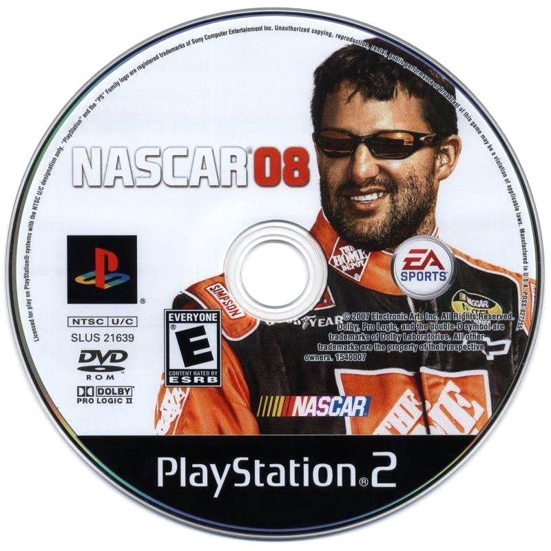 NASCAR 08 - PlayStation 2 (PS2) Game