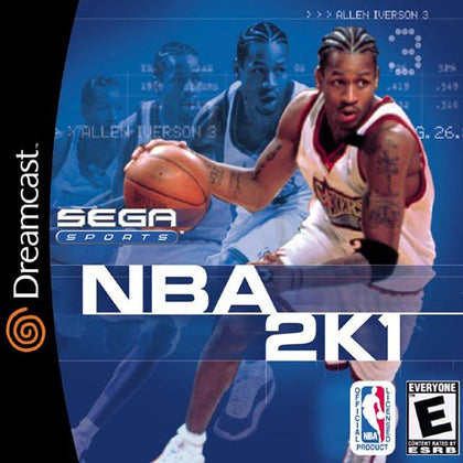 NBA 2K1 - Sega Dreamcast Game