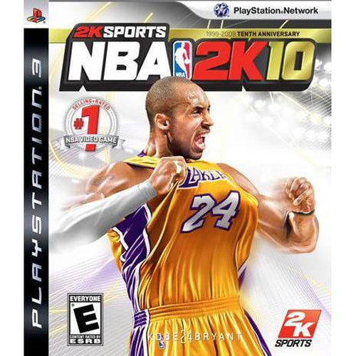 NBA 2K10 - PlayStation 3 (PS3) Game Complete - YourGamingShop.com - Buy, Sell, Trade Video Games Online. 120 Day Warranty. Satisfaction Guaranteed.