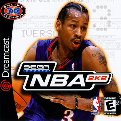 NBA 2K2 - Sega Dreamcast Game