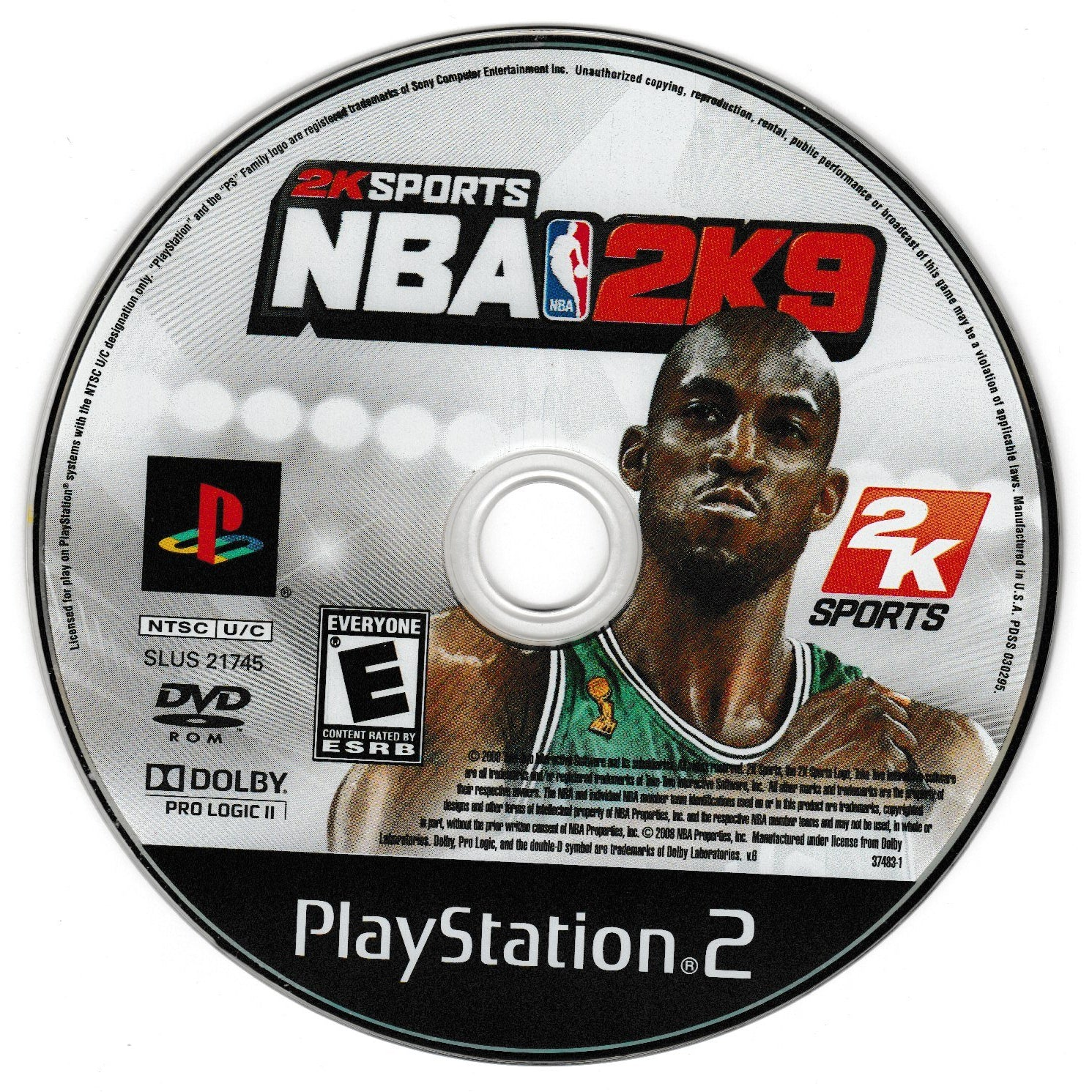 NBA 2K9 - PlayStation 2 (PS2) Game Complete - YourGamingShop.com - Buy, Sell, Trade Video Games Online. 120 Day Warranty. Satisfaction Guaranteed.