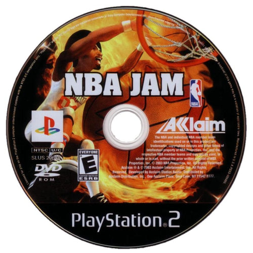 NBA Jam - PlayStation 2 (PS2) Game Complete - YourGamingShop.com - Buy, Sell, Trade Video Games Online. 120 Day Warranty. Satisfaction Guaranteed.