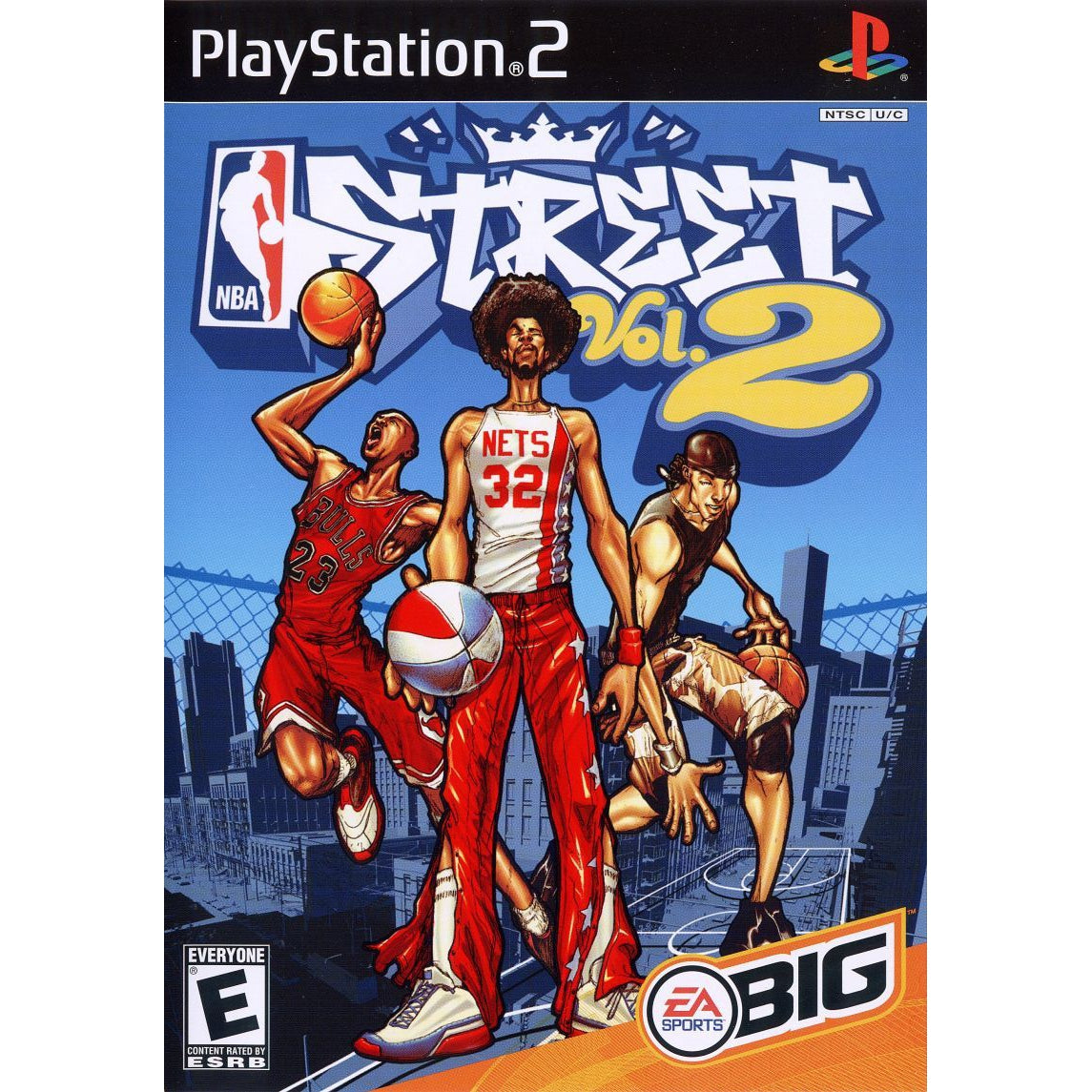 NBA Street Vol. 2 - PlayStation 2 (PS2) Game Complete - YourGamingShop.com - Buy, Sell, Trade Video Games Online. 120 Day Warranty. Satisfaction Guaranteed.