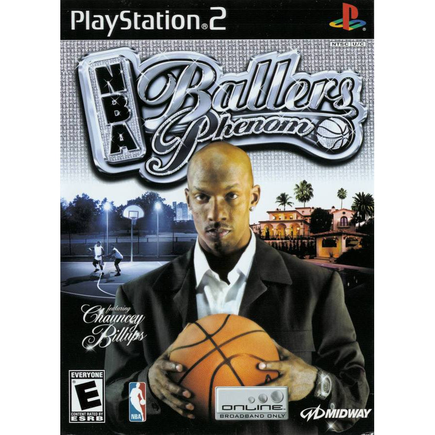 NBA Ballers: Phenom - PlayStation 2 (PS2) Game Complete - YourGamingShop.com - Buy, Sell, Trade Video Games Online. 120 Day Warranty. Satisfaction Guaranteed.