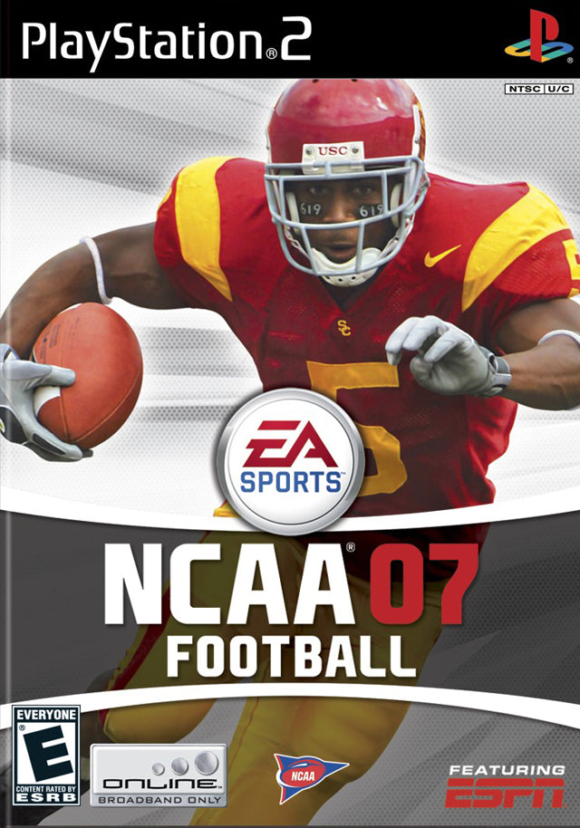 NCAA Football 07 - PlayStation 2 (PS2) Game
