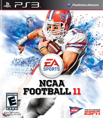 NCAA Football 11 - PlayStation 3 (PS3) Game