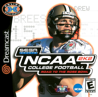 NCAA College Football 2K2 - Sega Dreamcast Game