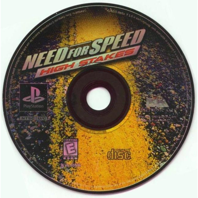 Need for Speed: High Stakes - PlayStation 1 (PS1) Game Complete - YourGamingShop.com - Buy, Sell, Trade Video Games Online. 120 Day Warranty. Satisfaction Guaranteed.