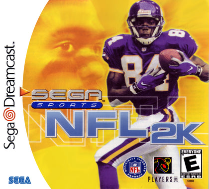 NFL 2K - Sega Dreamcast Game