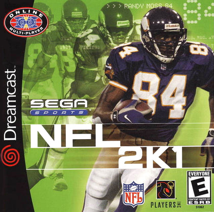 NFL 2K1 - Sega Dreamcast Game