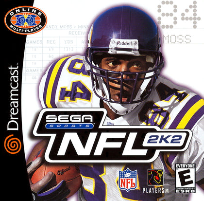 NFL 2K2 - Sega Dreamcast Game