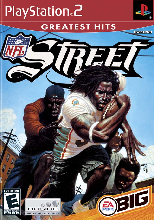 NFL Street (Greatest Hits) - PlayStation 2 (PS2) Game