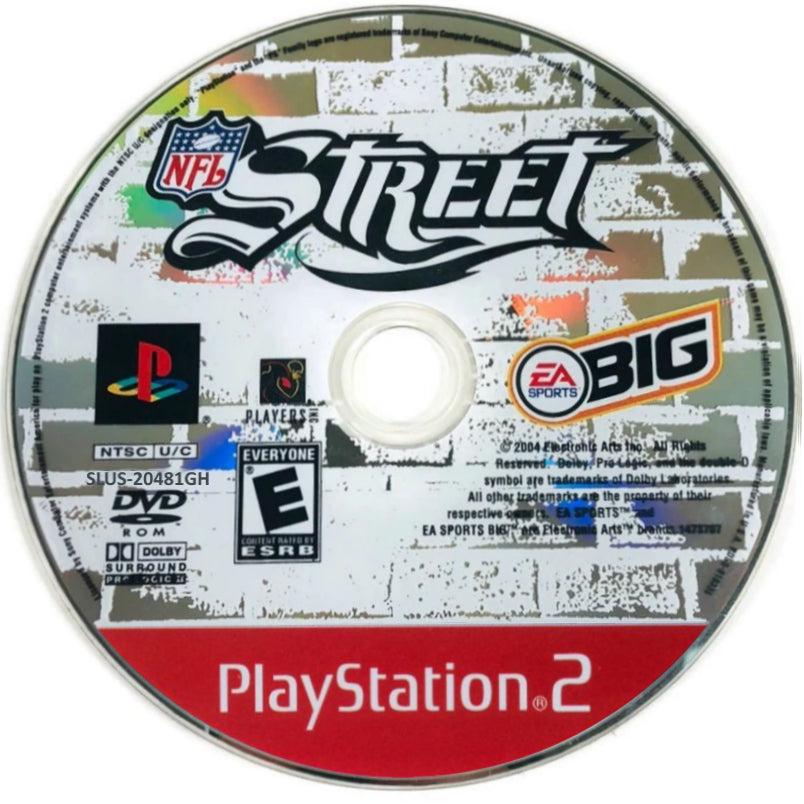 NFL Street (Greatest Hits) - PlayStation 2 (PS2) Game Complete - YourGamingShop.com - Buy, Sell, Trade Video Games Online. 120 Day Warranty. Satisfaction Guaranteed.