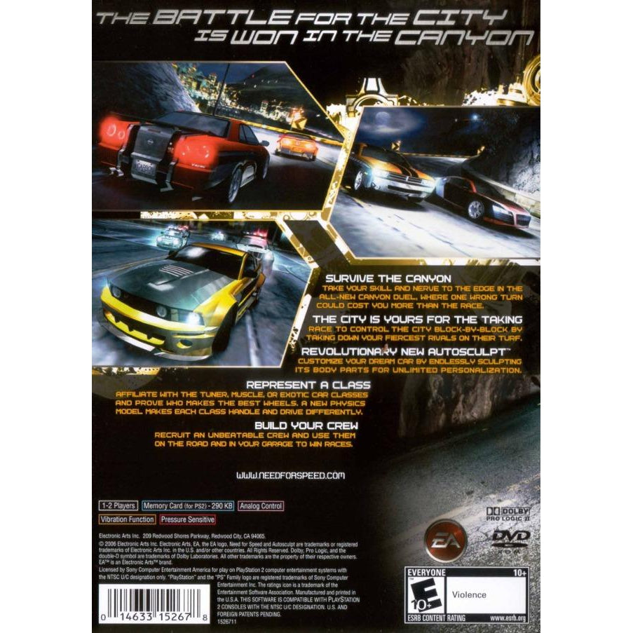 Need For Speed Carbon Playstation 2 Ps2 Game Your Gaming Shop