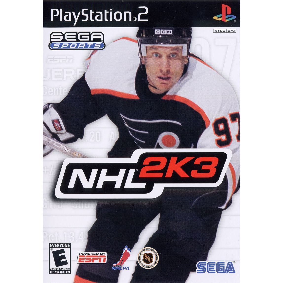 NHL 2K3 - PlayStation 2 (PS2) Game Complete - YourGamingShop.com - Buy, Sell, Trade Video Games Online. 120 Day Warranty. Satisfaction Guaranteed.