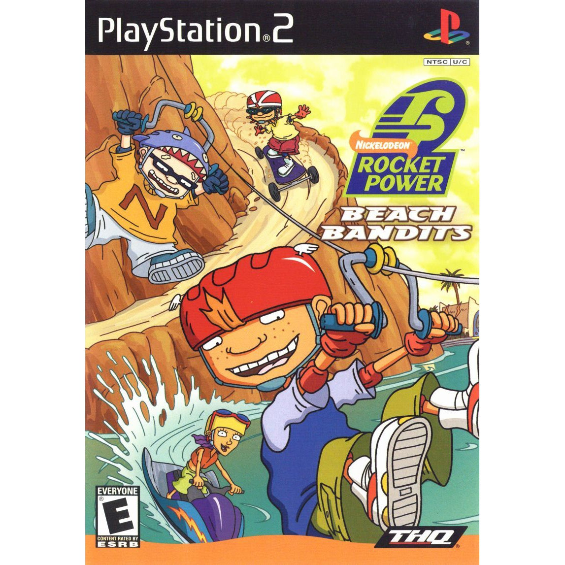 Nickelodeon: Rocket Power - Beach Bandits - PlayStation 2 (PS2) Game Complete - YourGamingShop.com - Buy, Sell, Trade Video Games Online. 120 Day Warranty. Satisfaction Guaranteed.