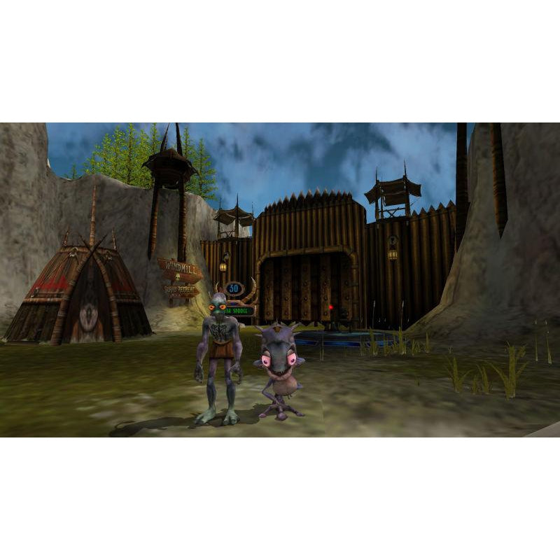 Oddworld: Munch's Oddysee (Platinum Hits) - Microsoft Xbox Game Complete - YourGamingShop.com - Buy, Sell, Trade Video Games Online. 120 Day Warranty. Satisfaction Guaranteed.