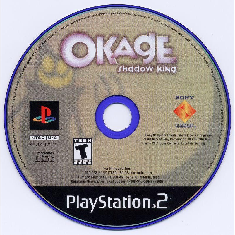 Okage: Shadow King - PlayStation 2 (PS2) Game Complete - YourGamingShop.com - Buy, Sell, Trade Video Games Online. 120 Day Warranty. Satisfaction Guaranteed.