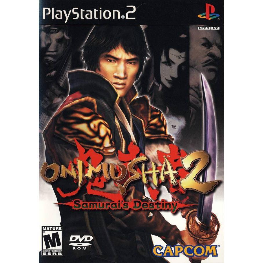 Onimusha 2: Samurai's Destiny - PlayStation 2 (PS2) Game Complete - YourGamingShop.com - Buy, Sell, Trade Video Games Online. 120 Day Warranty. Satisfaction Guaranteed.