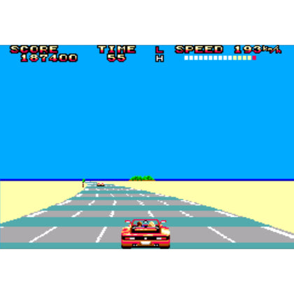 Out Run - Sega Master System Game Complete - YourGamingShop.com - Buy, Sell, Trade Video Games Online. 120 Day Warranty. Satisfaction Guaranteed.
