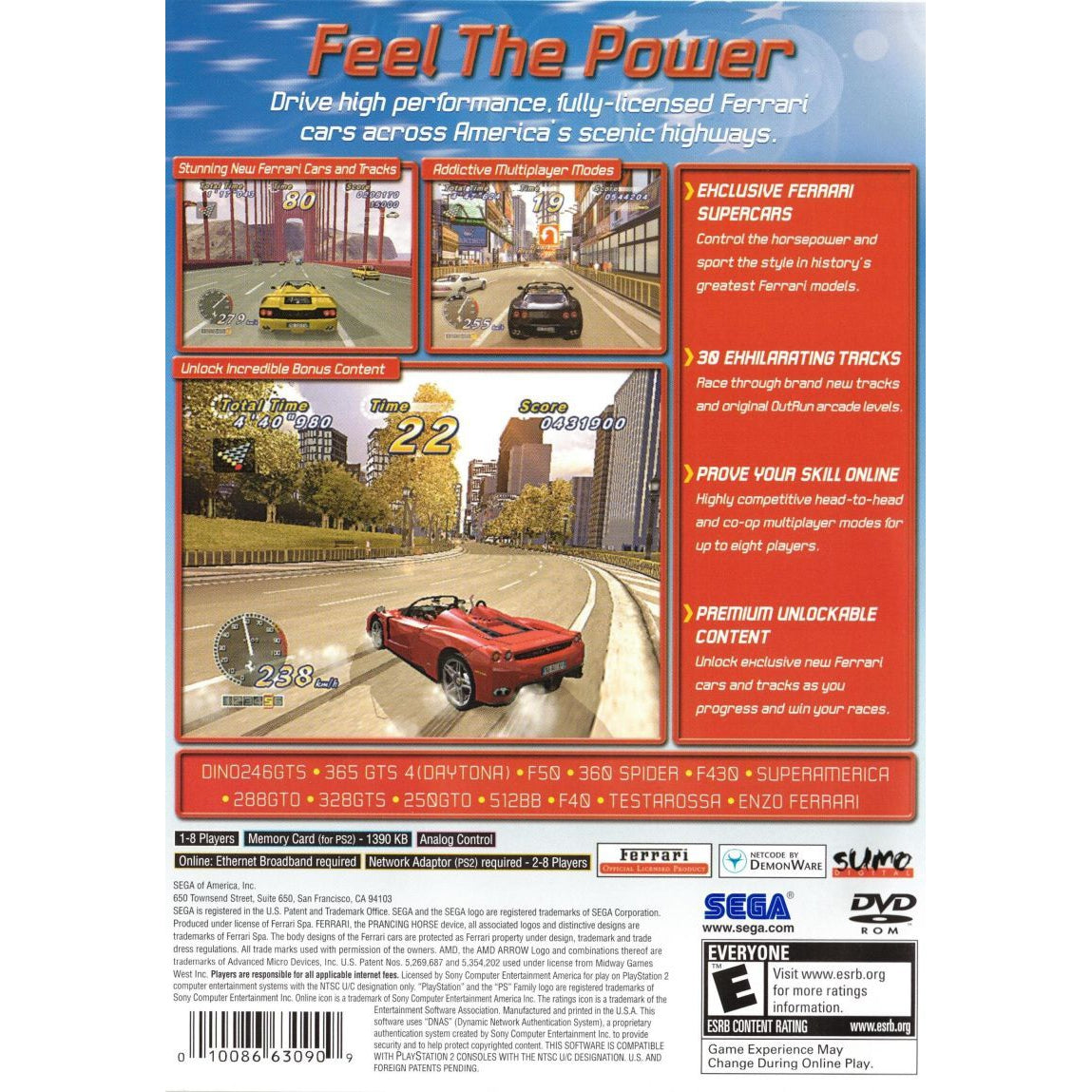 OutRun 2006: Coast 2 Coast - PlayStation 2 (PS2) Game Complete - YourGamingShop.com - Buy, Sell, Trade Video Games Online. 120 Day Warranty. Satisfaction Guaranteed.