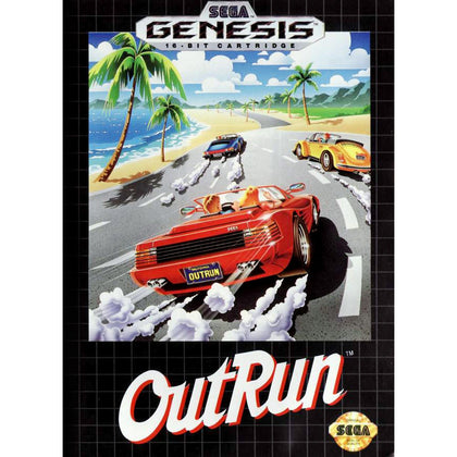 OutRun - Sega Genesis Game Complete - YourGamingShop.com - Buy, Sell, Trade Video Games Online. 120 Day Warranty. Satisfaction Guaranteed.