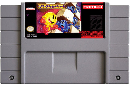 Pac-Attack - Super Nintendo (SNES) Game Cartridge