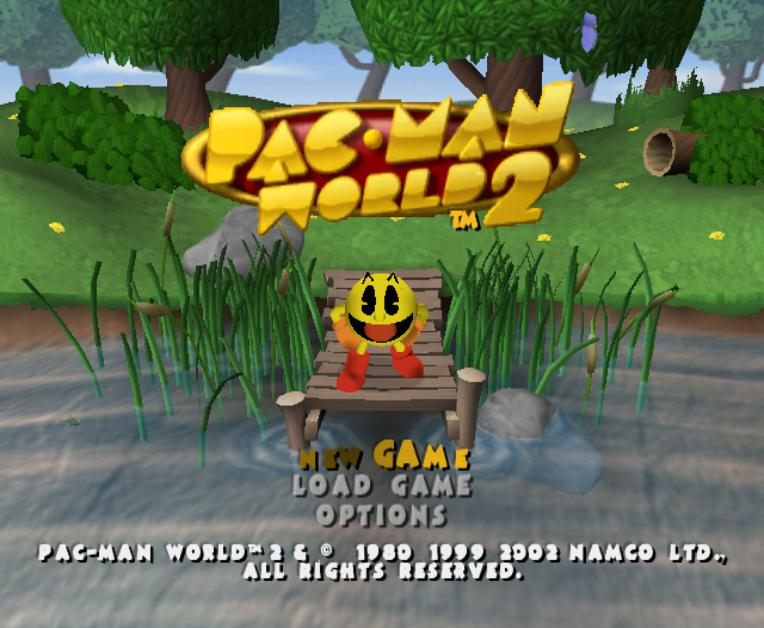 Pac-Man World 2 - Nintendo GameCube Game Complete - YourGamingShop.com - Buy, Sell, Trade Video Games Online. 120 Day Warranty. Satisfaction Guaranteed.