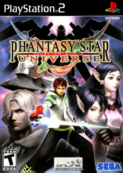 Phantasy Star Universe - PlayStation 2 (PS2) Game