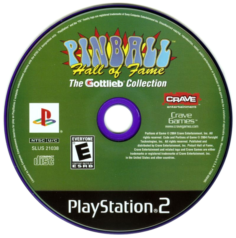 Pinball Hall of Fame: The Gottlieb Collection - PlayStation 2 (PS2) Game
