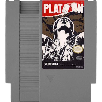 Platoon - Authentic NES Game Cartridge