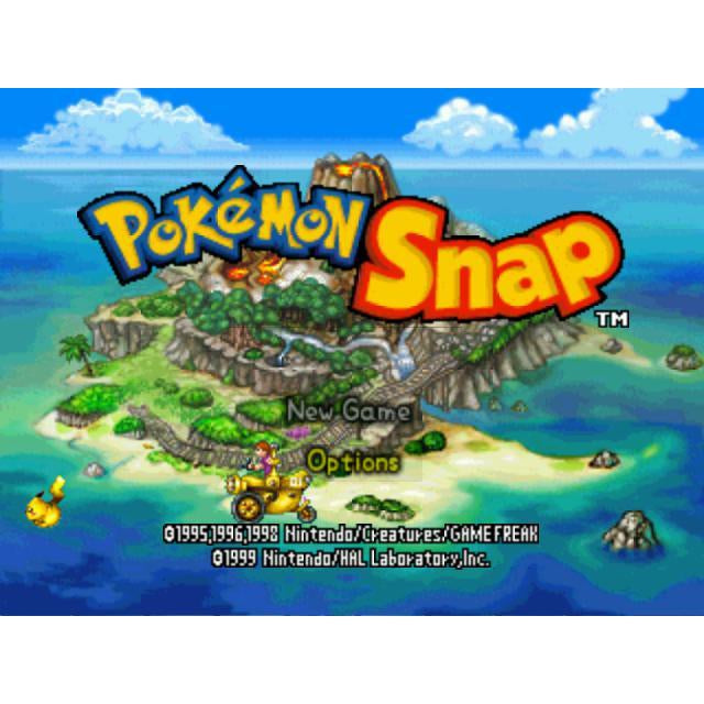 Pokemon Snap - Authentic Nintendo 64 (N64) Game Cartridge - YourGamingShop.com - Buy, Sell, Trade Video Games Online. 120 Day Warranty. Satisfaction Guaranteed.