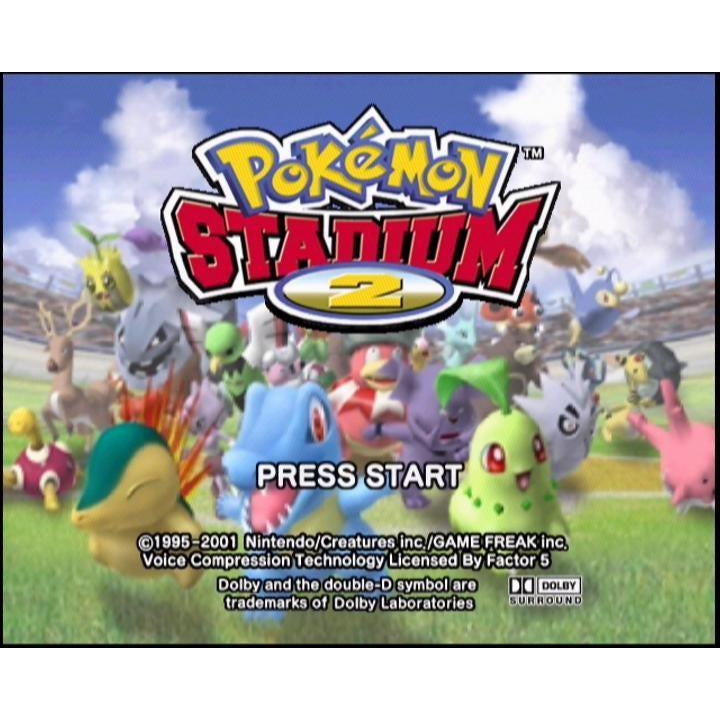 Pokemon Stadium 2 - Authentic Nintendo 64 (N64) Game Cartridge - YourGamingShop.com - Buy, Sell, Trade Video Games Online. 120 Day Warranty. Satisfaction Guaranteed.