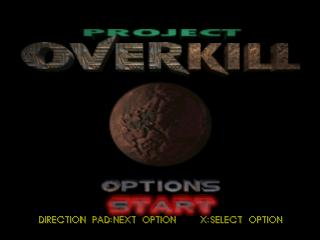 Project Overkill - PlayStation 1 (PS1) Game