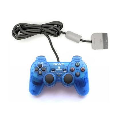 Sony PlayStation 1 DualShock Analog Controller - Island Blue
