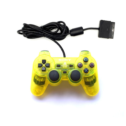 Sony PlayStation 2 DualShock 2 Analog Controller - Lemon Yellow